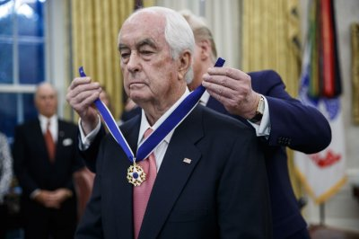 Trump awards Medal of Freedom to former racer Roger Penske