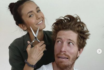 Nina Dobrev, Shaun White go Instagram official with haircut video