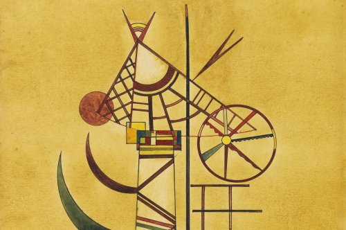 Wassily Kandinsky painting thought lost for 70 years sells for $1.4M