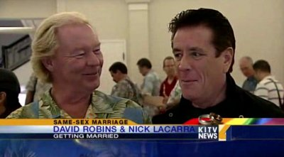 First same-sex marriages take place under Hawaii's new law