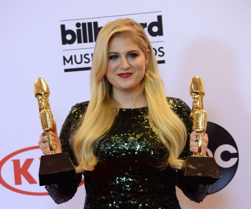 Meghan Trainor stuns in sequin dress at Billboard Music Awards