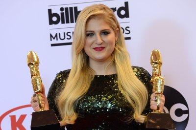 Meghan Trainor stuns in sequin dress at Billboard Music Awards
