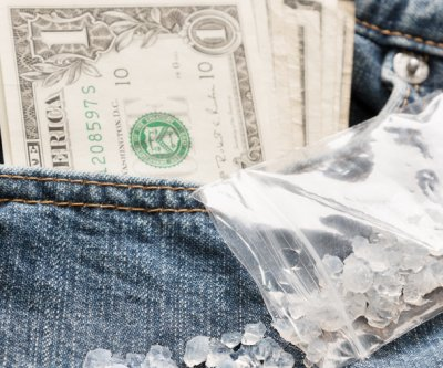 Texas man accused of including bag of meth with bank deposit