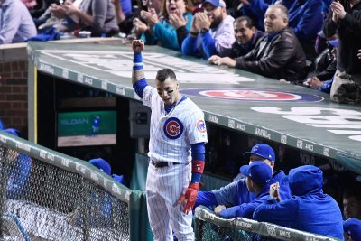 NLCS: Chicago Cubs' Javier Baez breaks out in big way vs. Los Angeles Dodgers