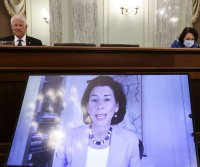 Raimondo vows to quickly address economic harm as commerce secretary