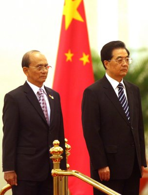 Thein Sein visits India