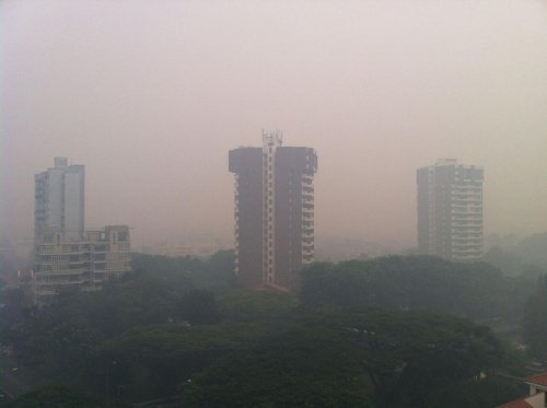 Singapore sees worst pollution levels of the year