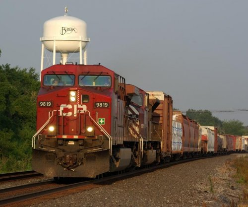 Crude oil leaks from derailed train cars in southern Wisconsin