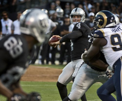 Oakland Raiders' Derek Carr, Amari Cooper get head start on chemistry