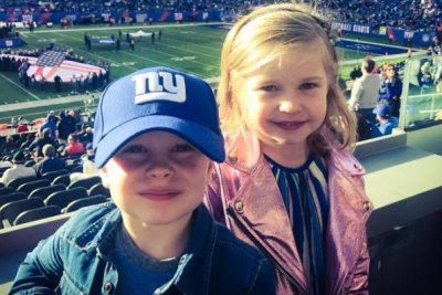 Neil Patrick Harris posts photo from twins' first football game
