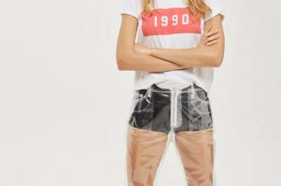 Topshop's clear plastic jeans baffle the internet