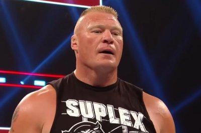 WWE Raw: Brock Lesnar destroys Seth Rollins
