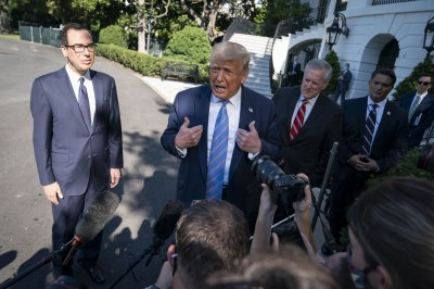 Trump, Mnuchin support stopgap stimulus bill