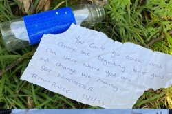 'Suspicious package' reported in Britain was message in a bottle