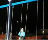 Teenager spends 36 hours on swing to break Guinness record