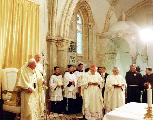 Israel, Vatican discuss status of shrines