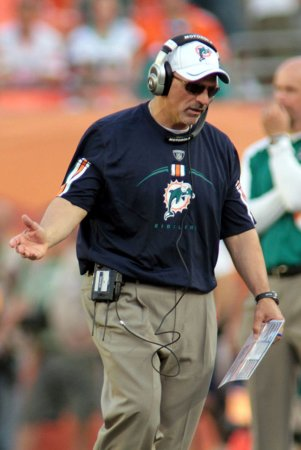 Dolphins coach Sparano says house too big
