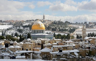 Snow in Israel: See photos of the rare snow blanketing the Middle East