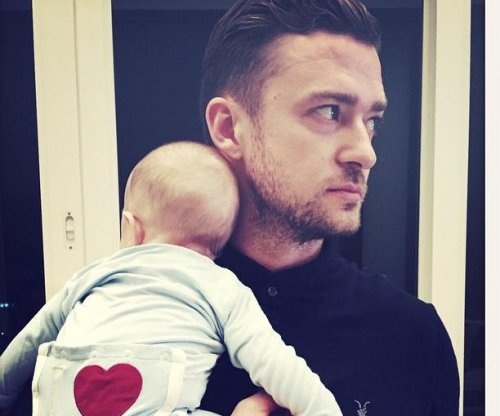 Justin Timberlake celebrates first Father's Day with son Silas