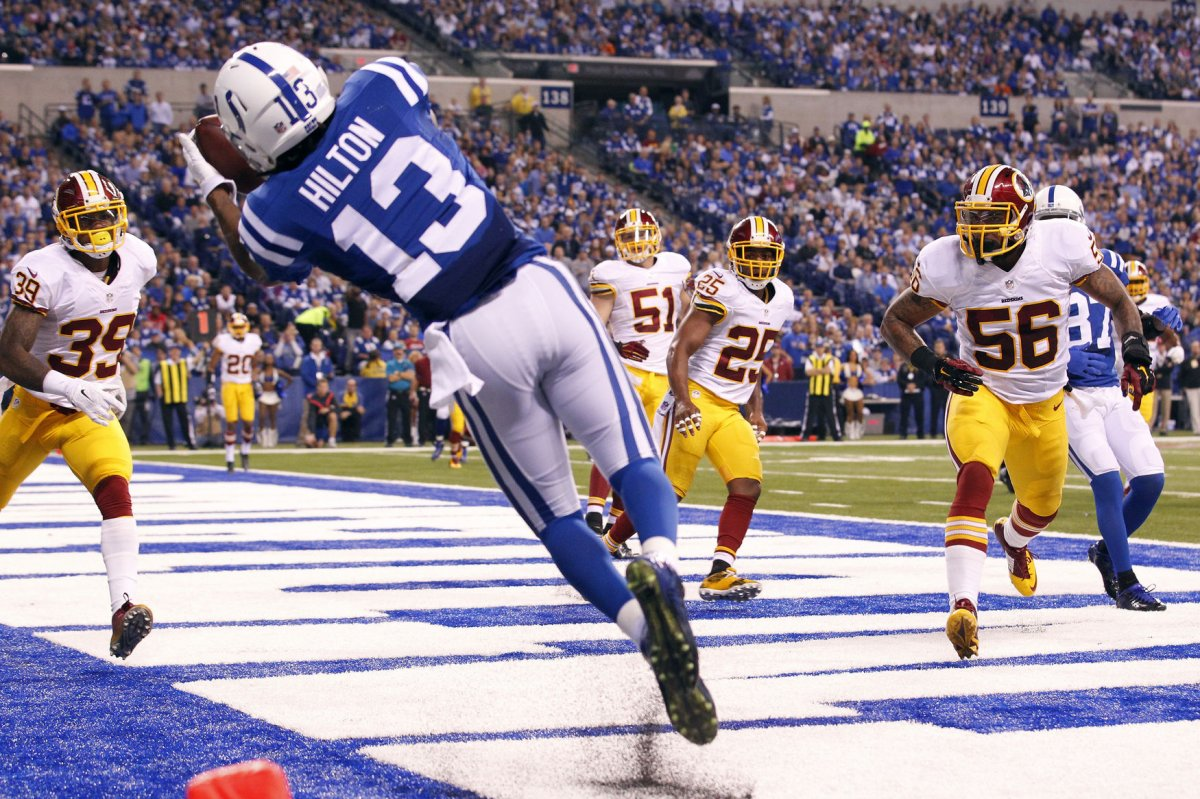 Indianapolis Colts WR T Y Hilton expected to be game day decision