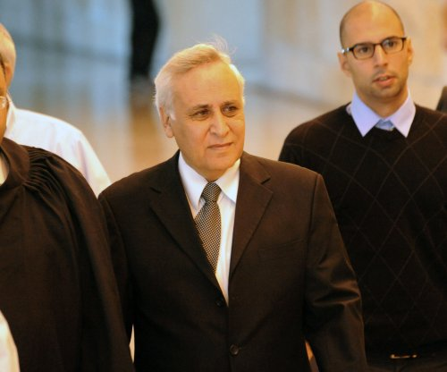 Jailed Israeli ex-president Katsav appeals for rape charges to be pardoned