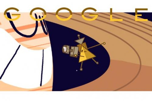 Google marks the Cassini Spacecraft's final Saturn mission with new Doodle