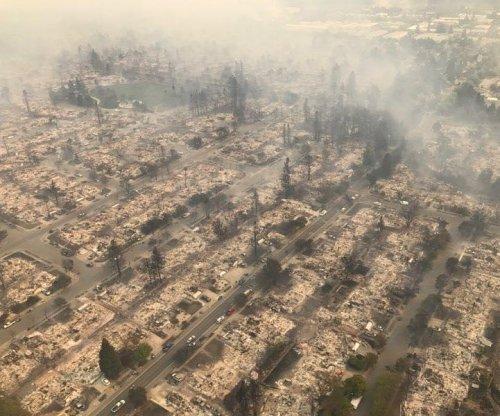 Northern California wildfires: Ten dead, emergency declared