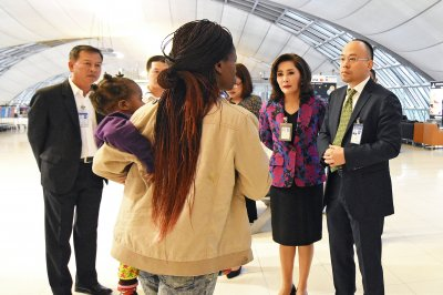 U.N. to help Zimbabwe family who've lived at Thailand airport for months