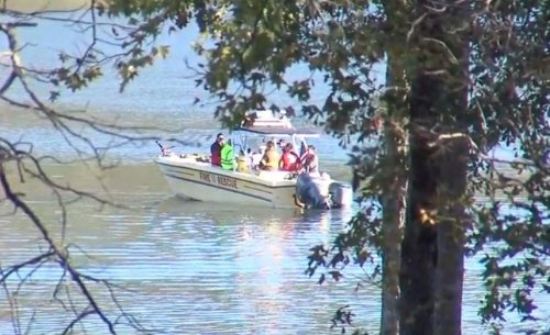 Georgia police helicopter crashes into river; no sign of survivors