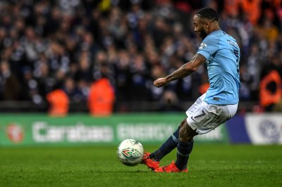 Man City's Raheem Sterling nets penalty to beat Chelsea in Carabao Cup final