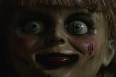 'I let her out,' says terrified girl in 'Annabelle Comes Home' trailer
