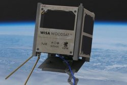 Finnish company will test tiny, wooden satellite in space