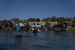Border agents criticized for treatment of Haitian migrants in Del Rio, Texas
