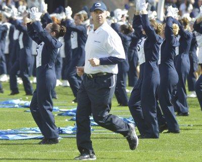Penn State names Larry Johnson interim coach