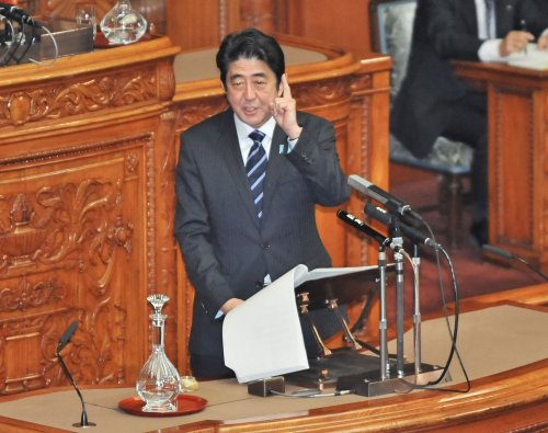Outside View: The slog ahead for Japan's Abe