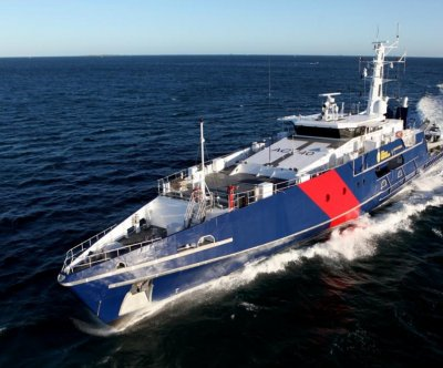 Austal rolls out first Cape-class patrol boat for Australian Royal Navy