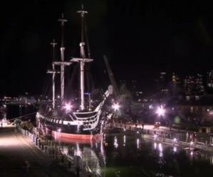 World's oldest warship returns to Boston Harbor after restoration