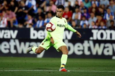 Leganes beats Barcelona, despite laser goal from Coutinho
