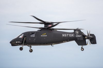 Sikorky's S-97 Raider helicopter exceeds 200 knots in test