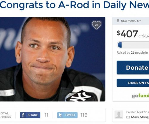 Fans create GoFundMe for Alex Rodriguez