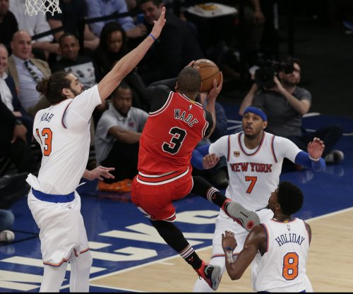 New York Knicks' Joakim Noah [knee] to miss remainder of season