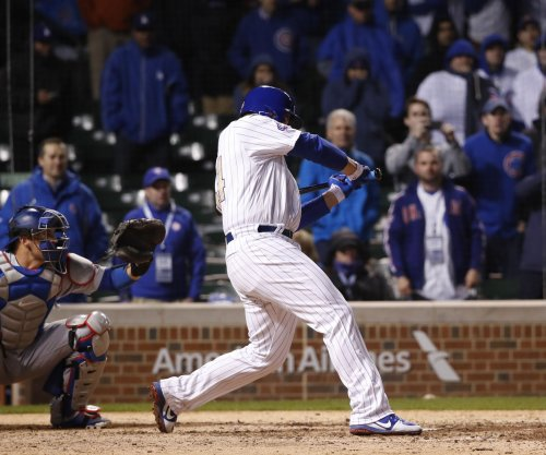 Anthony Rizzo, Addison Russell power Chicago Cubs past Los Angeles Dodgers