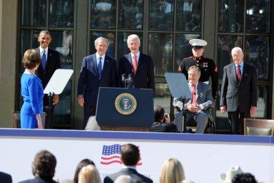 Former U.S. presidents condemn Charlottesville violence
