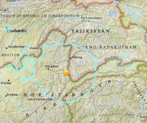 Earthquakes strike Afghanistan, Pakistan