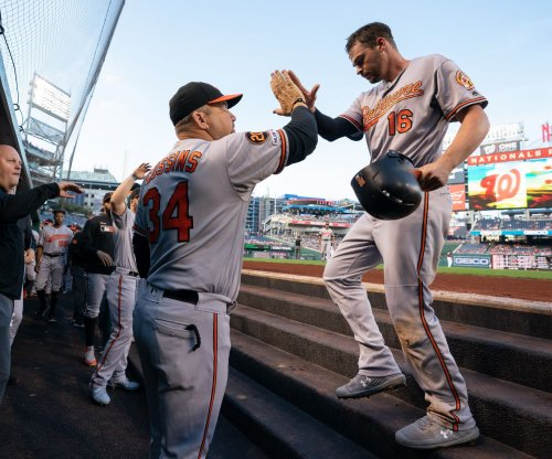 Orioles' Trey Mancini receives standing ovation in return from cancer