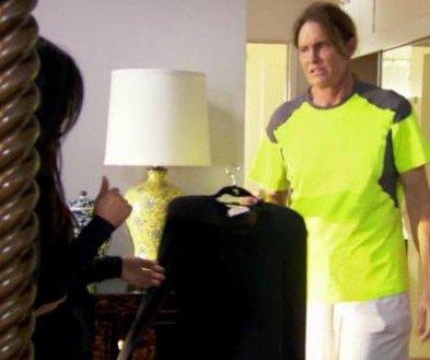 Bruce Jenner reveals he stole Kim Kardashian's clothes