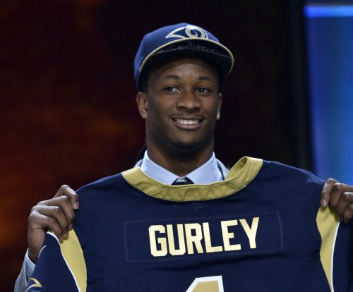 St. Louis Rams RB Todd Gurley cleared for team practice