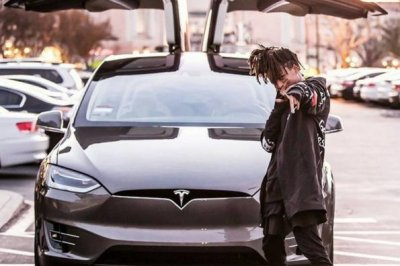 Jaden Smith buys coveted Tesla Model X car
