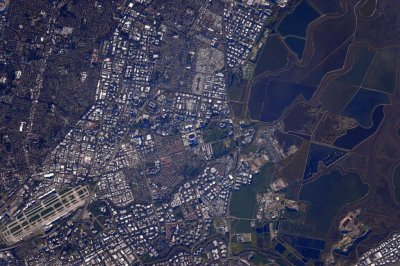 Astronaut shares photo of Super Bowl from 249 miles up