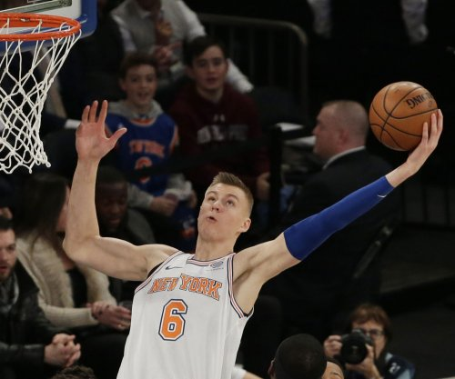 Kristaps Porzingis: New York Knicks star forward receives clean MRI following injury